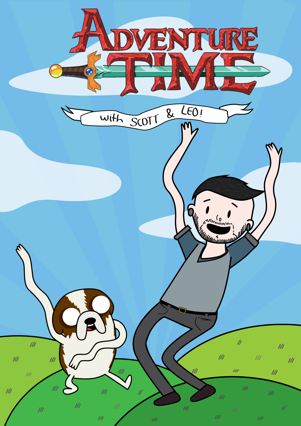 Adventure Time with Scott and Leo